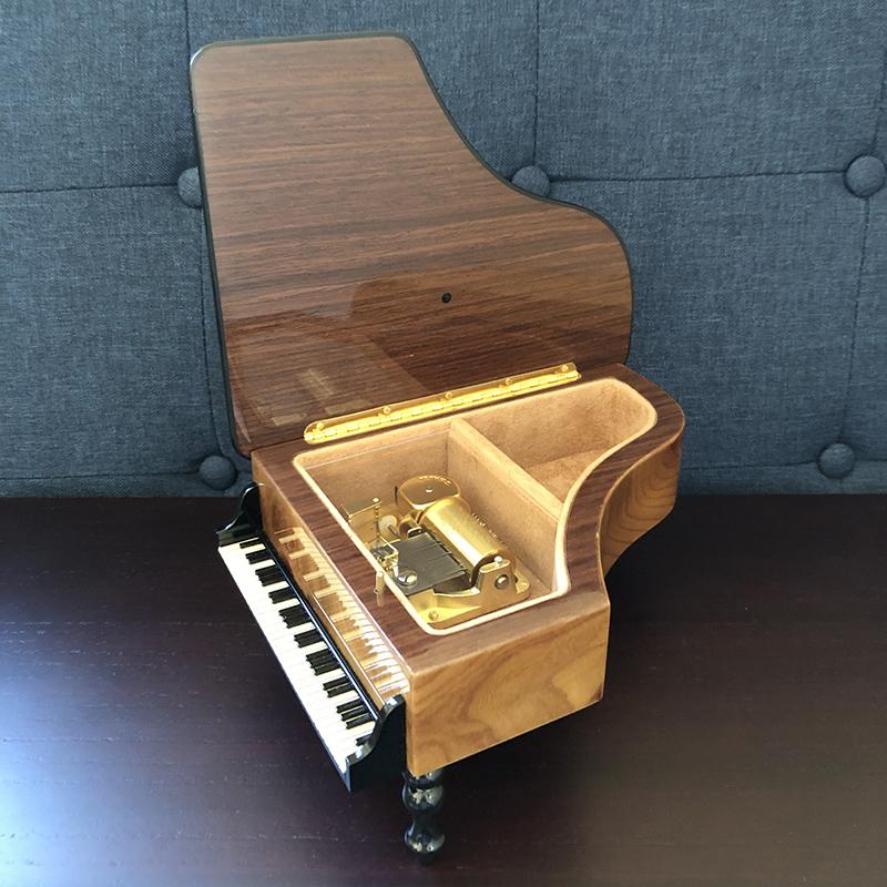 ピアノ 象嵌 30弁 オルフェウス サンキョー 開いた画像